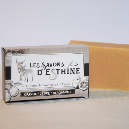 Savon Cèdre Orange Bergamote